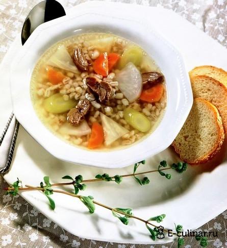 Готовое блюдо Суп шотландский