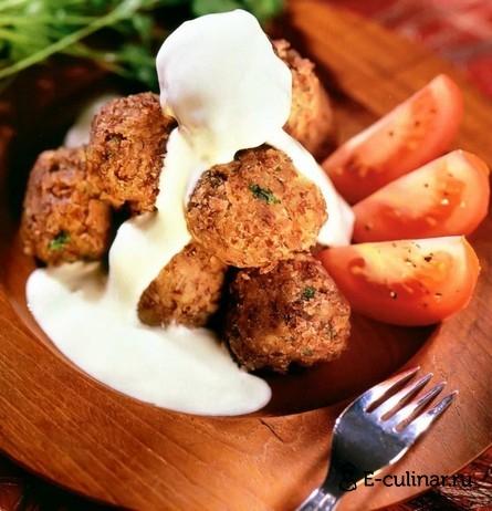Готовое блюдо Крокеты из фасоли