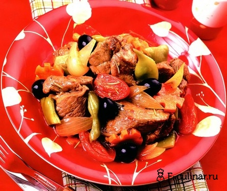Готовое блюдо Рагу из баранины