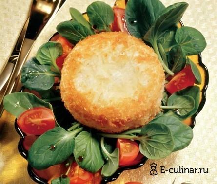 Готовое блюдо Закуска из жареного сыра