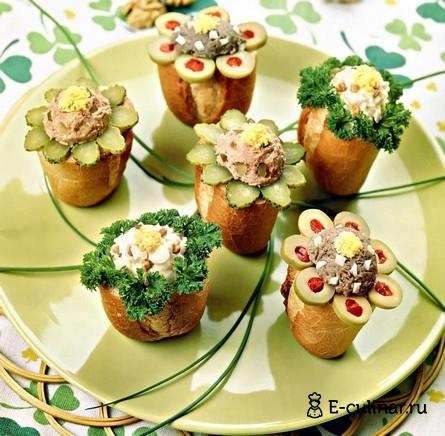 Готовое блюдо Хлебные «бочоночки»