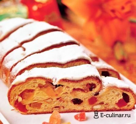 Готовое блюдо Рождественский кекс