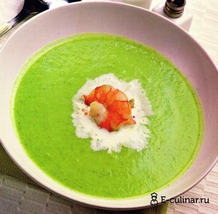 Готовое блюдо Суп-пюре из брокколи