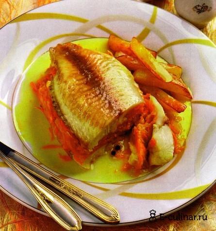 Готовое блюдо «Сандвич» из рыбы