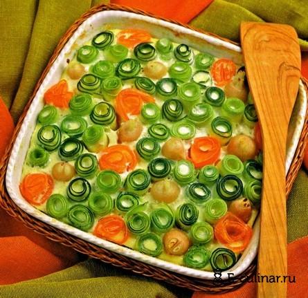 Готовое блюдо Овощная запеканка