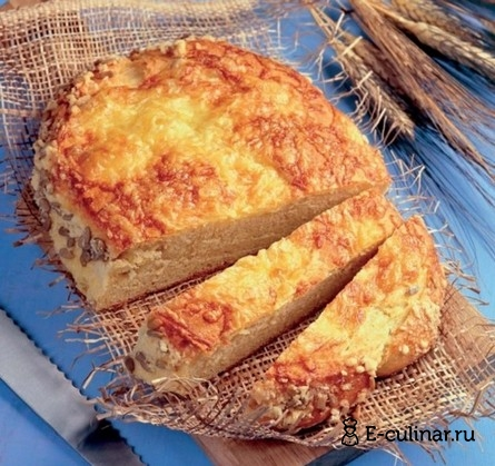 Готовое блюдо Кукурузный хлеб с сыром