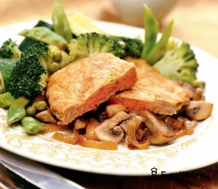 Готовое блюдо Сочное мясо с шампиньонами