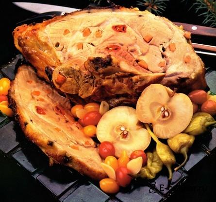 Готовое блюдо Запеченный свиной окорок