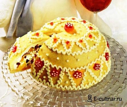 Готовое блюдо Мороженный твороженный торт
