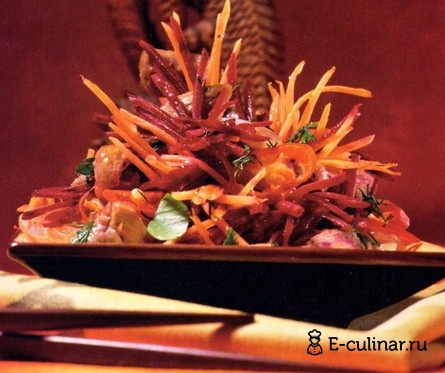 Готовое блюдо Салат «Китайский дракон»