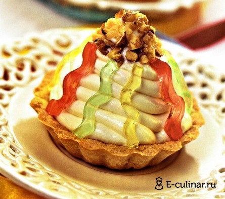 Готовое блюдо Пирожное «Серпантин»