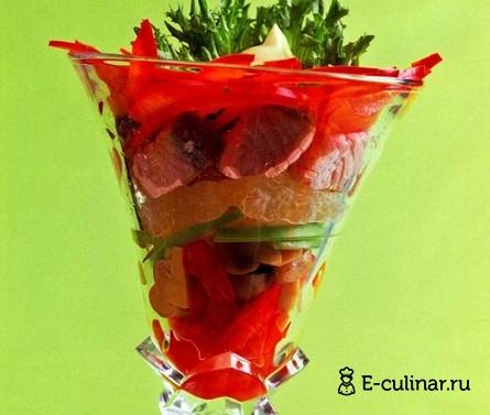 Готовое блюдо Салат-коктейль с рыбой