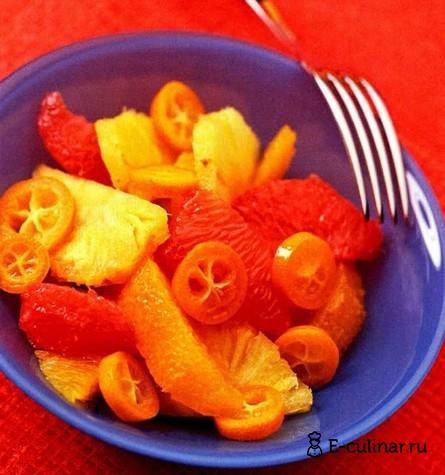 Готовое блюдо Апельсиновый салат