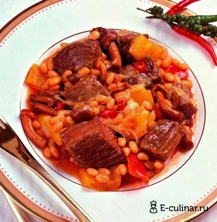 Готовое блюдо Говядина чили