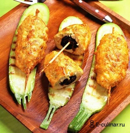 Готовое блюдо Люля-кебаб из куриного фарша