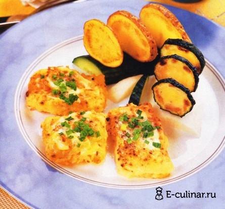 Готовое блюдо Рыба под майонезом в духовке
