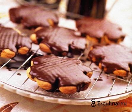 Готовое блюдо Имбирное печенье с шоколадом