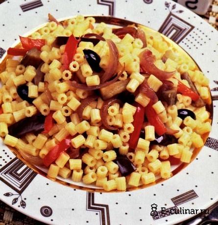 Готовое блюдо Паста с овощами