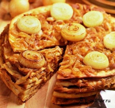 Готовое блюдо Пирог «Луковник»