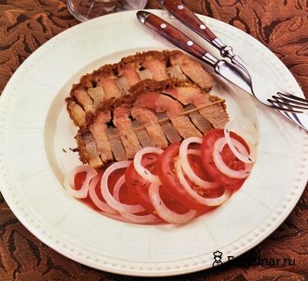 Готовое блюдо Запечённая свиная шейка