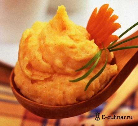 Готовое блюдо Картофельное пюре с морковью