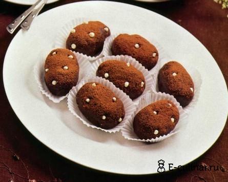 Готовое блюдо Мини-пирожные «Картошка»