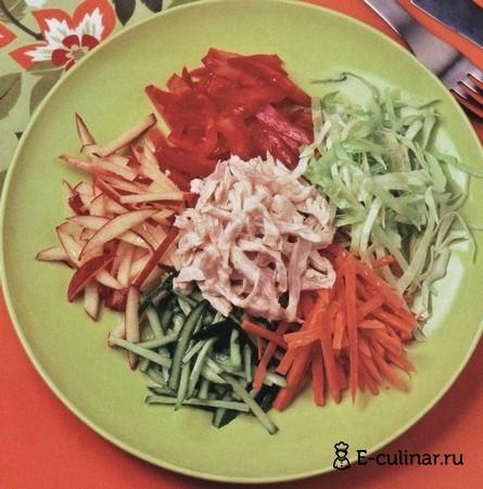 Готовое блюдо Салат витаминный