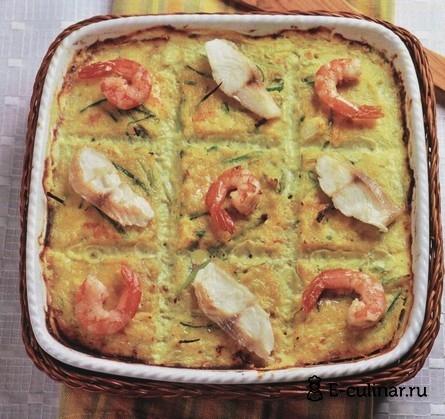 Готовое блюдо Рыба по-неаполетански
