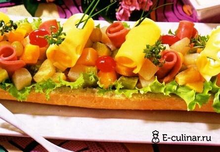 Готовое блюдо Бутерброд «Великан»