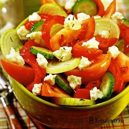 Готовое блюдо Салат «Шопский»