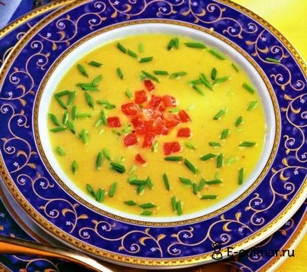 Готовое блюдо Крем-суп из чечевицы