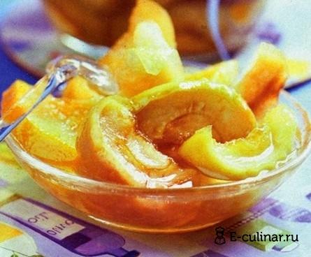 Готовое блюдо Яблочно-апельсиновое варенье