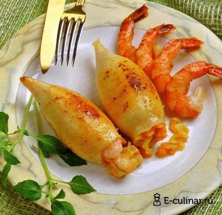 Готовое блюдо Дaр Нептуна