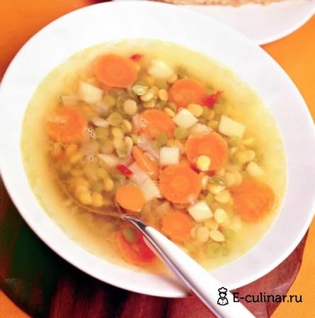 Готовое блюдо Гороховый суп