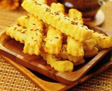 Готовое блюдо Солёное печенье с тмином