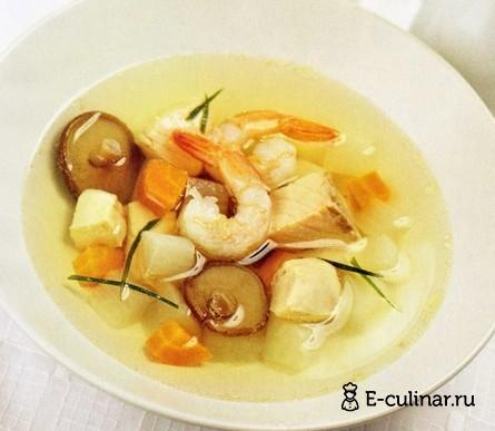 Готовое блюдо Новогодний японский суп