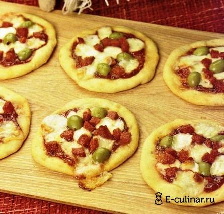 Готовое блюдо Мини-пиццы