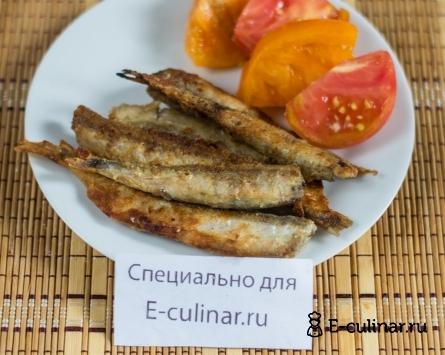 Готовое блюдо Жареная мойва