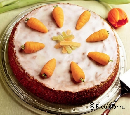 Готовое блюдо Торт «Морковка»