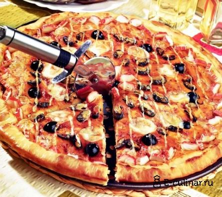 Готовое блюдо Пицца «Флоренция»