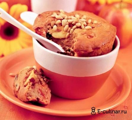 как приготовить пудинг из яблок и моркови