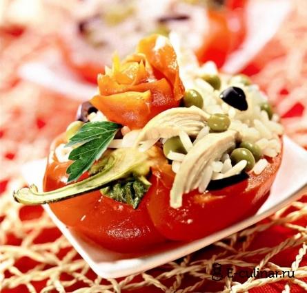 Готовое блюдо Салат «Кармен»
