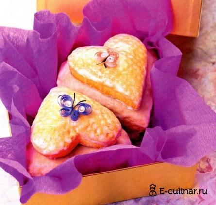 Готовое блюдо Пряничное сердце
