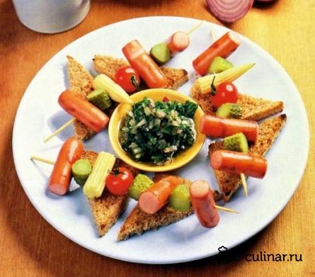 Готовое блюдо Закусочные шашлыки