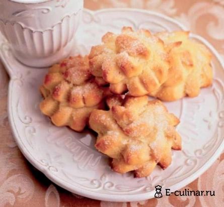 Готовое блюдо Пышные булочки «Хризантемы»