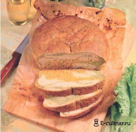 Готовое блюдо Разноцветный хлеб