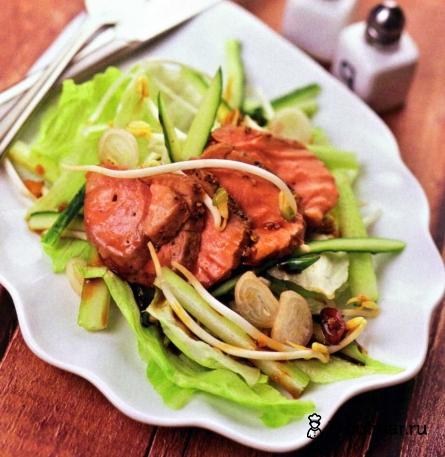 Готовое блюдо Кисло-сладкий салат