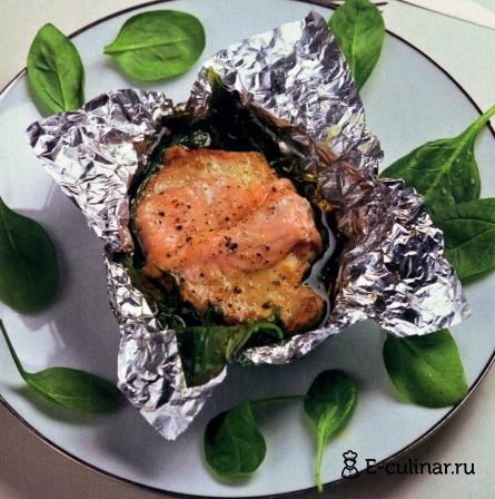 Готовое блюдо Свинина в красной рыбе