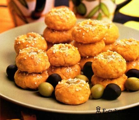 Готовое блюдо Печенье с оливками