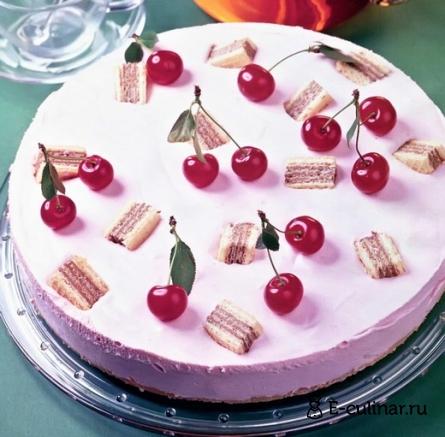Готовое блюдо Вишневый торт